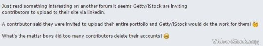 iStock-Getty inviting contributors to upload