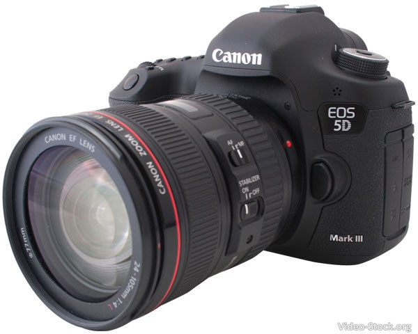 Canon 5D Mark III for shooting stock footage