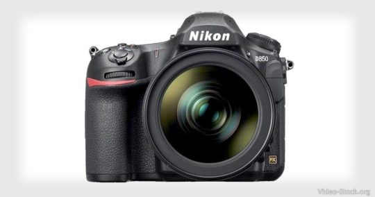 Nikon D850 Stock Videographer Equipment